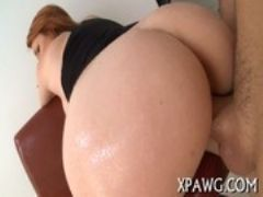 Hot fuck of a tight butt hole