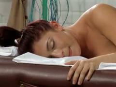 Mischa brooks gets massage