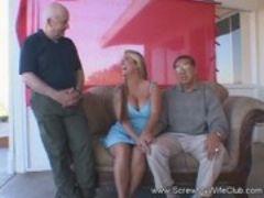 Spanish milf swinger finds stranger sex