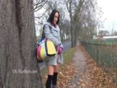 Dark amateur chloe lovettes public flashi