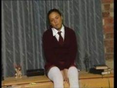 School girl solo