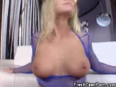 Britney brooks gets oiled up
