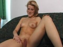 Having fun on the couch with herself julia reaves