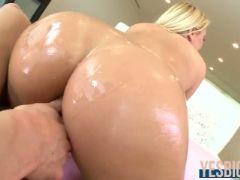 Anal queen katja kassin gets ass wrecked by a rock hard dick