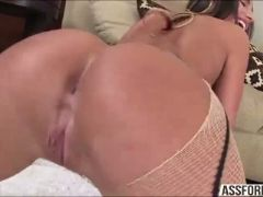 Brunette sexy slut august ames pussy gets rammed hard