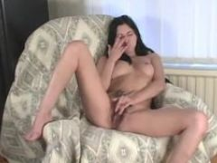 My hippy girlfriends hairy pussy getting fingered