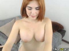 Big tit redhead toys on webcam cams net