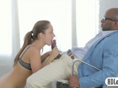 Sultry remy lacroix anal interracial sex by big black cock