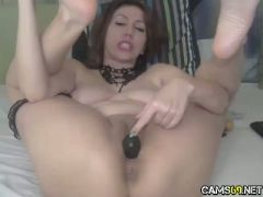 Big tit curvy bbw milf pussy spread on webcam