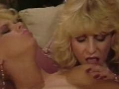 Classic porn threesome from