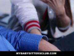 Mybabysittersclub petite babysitter fucked by the horny boss