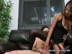 Rich latina chick zoey velez fucks the help with big cock