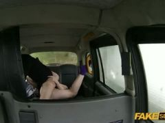 Taxi hardcore sex action with a very cute british teen