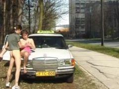 Taxi driver needs sex