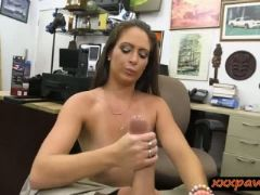 Ex dominatrix banged by horny pawn dude at the pawnshop