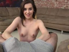 Kasey warner does sloppy handjob