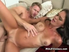 Hottie dixie brooks gets impaled and facialized