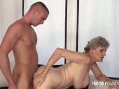Chic gilf takes massive dick
