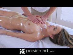 Slippery wet massage