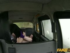 Taxi hardcore sex action with a very pretty teen