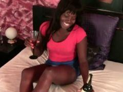 Sweet ebony anal