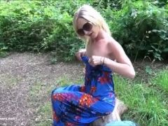 Sexy blonde debbies public flashing and outdoor babes masturbation in