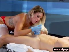 Sexy nurse kissa sins with huge boobs gets fucked the doctor