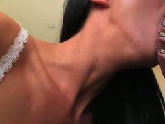 Big titty pov boob job