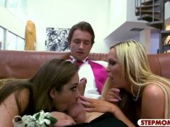 Nikki benz and remy lacroix hot threesome by nasty dude