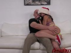 Merry xmas from aidra fox and a big cock