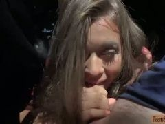 Jill kassidy hitchhikes and outdoor sex with stranger dude