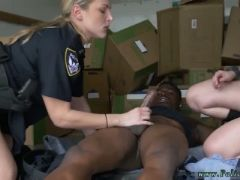 Nesty interracial and desi woman white man black suspect taken on a ha