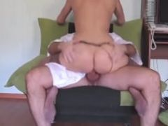 Stocking woman fucked hard by his boss
