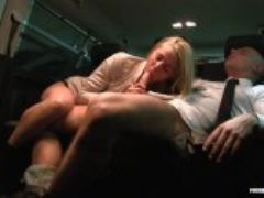 Fucked in traffic hungarian babe christen courtney loves dirty car sex