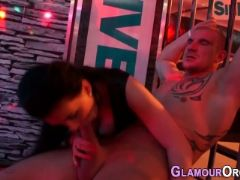 Glam babes ride black rod