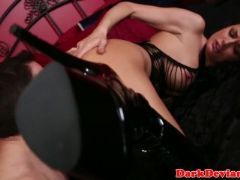 Bigtit spanked submissive doggystyle pounded