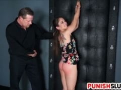 Ziggy star is handcuffed spanked and disciplined