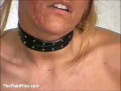 Slave crystel lei pussy punishment in gyno bdsm and bizarre needle pai