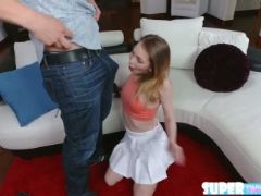 Adorable and crazy angel smalls gets fucked by her instructor