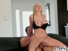 Busty mom nina elle seducing her stepson