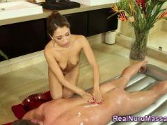 Asian nuru masseuse spunk