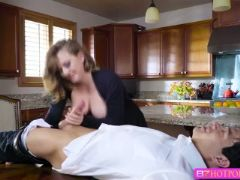 Damn hot kagney gets pounded in the ass by her sweetheart