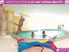Vr porn five hot russian girls share one cock