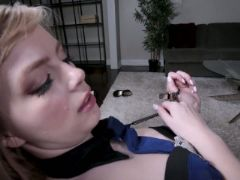 Dolly leigh her stepbrother fucked on halloween day
