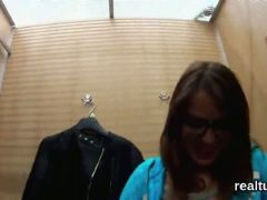 Perfect czech teenie is seduced in the shopping centre and screwed in