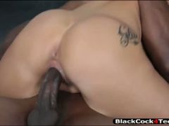 Stunning tattooed babe katrina jade gets railed by bbc