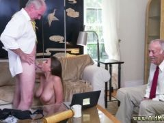 College old guy and german first time ivy impresses with her big fun b