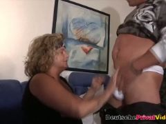 Fat german mature loves to fuck