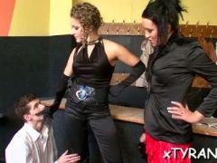 Nasty mistress humiliates