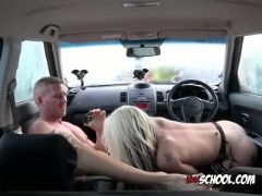 Sexy chick barbie sins gets her pussy rammed hard